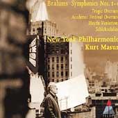 Brahms: Symphonies 1-4, etc / Masur, New York Philharmonic