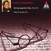 Schubert: String Quartets No 13 & 9 / Alban Berg Quartet