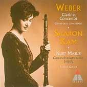 Weber: Clarinet Concertos, etc / Kam, Masur, Gewandhaus