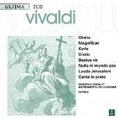 Vivaldi: Gloria, Magnificat, Kyrie, etc / Corboz, et al
