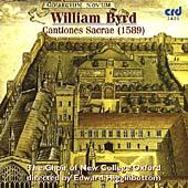 Byrd: Cantiones Sacrae, 1589 / Higginbottom, et al