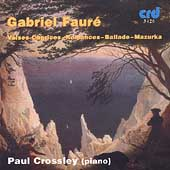 Faure: Complete Piano Works Vol 5 / Paul Crossley