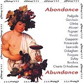 Abundance - Podgaits, Gershwin, Glinka, Mozart, et al