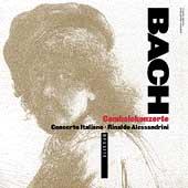 Bach: Cembalokonzerte / Alessandrini, Concerto Italiano