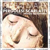 Pergolesi, Scarlatti: Stabat Maters / Alessandrini, et al
