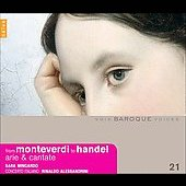 From Monteverdi to Handel - Arie & Cantate / Sara Mingardo(Ms), Rinaldo Alessandrini(cond), Concerto Italiano