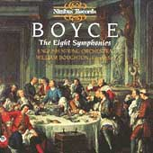 Boyce: The Eight Symphonies / Boughton, English String Orch