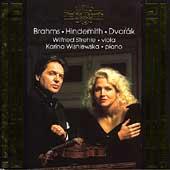 Brahms, Hindemith, Dvorak / Strehle, Wisniewska