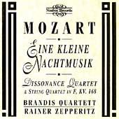 Mozart: Eine kleine Nachtmusik, etc / Brandis Quartet, Rainer Zepperitz