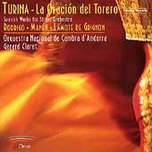 Spanish Works for String Orchestra - Turina, Manen, Rodrigo, etc / Gerard Claret, Orquestra Nacional de Cambra d'Andorra