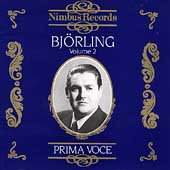 Prima Voce - Bjoerling Vol 2