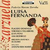 Moreno Torroba: Luisa Fernanda / Ros Marba, Domingo, et al