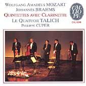 Mozart, Brahms: Clarinet Quintets / Cuper, Talich Quartet