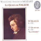 Mozart: String Quartets no 16 & 17; Haydn / Talich Quartet