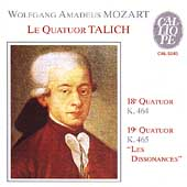 Mozart: String Quartets no 18 & 19, etc / Talich Quartet