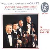 "Mozart: Quatuor ""Les Dissonances"", etc / Cuper, Talich"