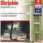 Scriabin: Symphony no 3 / Gergiev, Leningrad Philharmonic