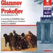 Glazunov: Piano Concerto;  Prokofiev / Richter, Eliasberg