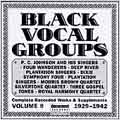 Black Vocal Groups Vol. 9...