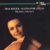 Reger: Suites for Cello / Michaela Fukacova