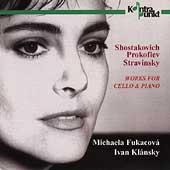 Shostakovich, Prokofiev, Stravinsky / Fukocova, Klansky