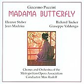 Puccini :Madama Butterfly (5/26-28/1949): Max Rudolf(cond)/Metropolitan Opera Orchestra & Chorus/etc