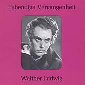 Lebendige Vergangenheit - Walther Ludwig
