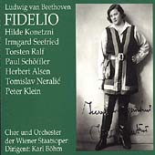 Beethoven: Fidelio / Boehm, Konetzni, Seefried, Ralf, et al