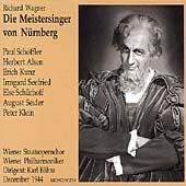 Wagner: Die Meistersinger / Boehm, Schoeffler, Alsen, et al