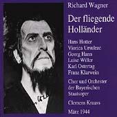 Wagner: Der fliegende Hollaender / Krauss, Hotter, Ursuleac