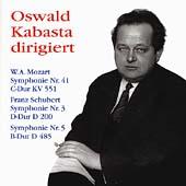 Oswald Kabasta dirigiert Mozart, Schubert: Symphonies