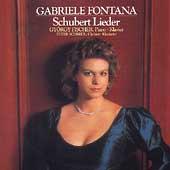 Schubert: Lieder / Gabriel Fontana, et al