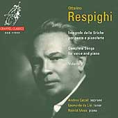 Respighi: Complete Songs Vol 2 / De Lisi, Catzel, Mees