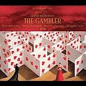 Prokofiev: The Gambler -Complete (1974) / Alexander Lazarev(cond), Bolshoi Theatre Orchestra & Chorus, Alexei Maslennikov(T), Makvala Kasrashvili(S), etc