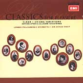 Elgar: Enigma Variations, Introduction & Allegro for Strings
