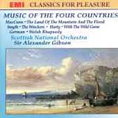 Music of the Four Countries / Gibson, Scottish National