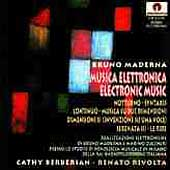 Maderna: Electronic Music - Notturno, Syntaxis, etc