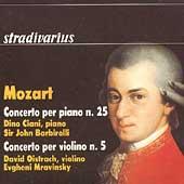 Mozart: Piano and Violin Concertos / Ciani, Oistrakh, et al