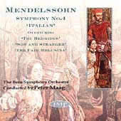 Mendelssohn: Symphony No 4, Overtures / Maag, Bern Symphony