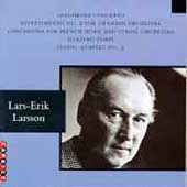 Larsson: Saxophone Concerto, etc / Stockholm Sinfonietta