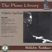 The Piano Library / Wilhelm Backhaus - Brahms