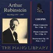 The Piano Library - Chopin: Concerti, Nocturnes / Rubinstein