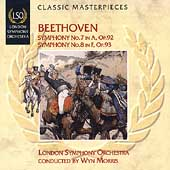 LSO Series - Beethoven: Symphony no 7 & 8 / Wyn Morris, etc