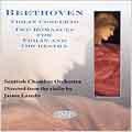 Beethoven: Concerto for Violin, Romances / Laredo, et al