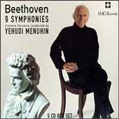 Beethoven: Complete Symphonies / Menuhin, Sinfonia Varsovia