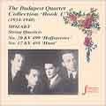 Strings - The Budapest Quartet Collection Vol 1 (1934-1940)
