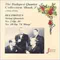 Strings - The Budapest Quartet Collection Vol 3 - Beethoven