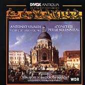Antiqua - Vivaldi: Concerti per le Solennita / Carmignola