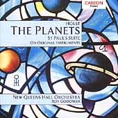 Holst: The Planets, etc / Roy Goodman, New Queens Hall