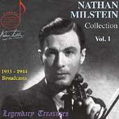 Legendary Treasures - Nathan Milstein Collection Vol 1
